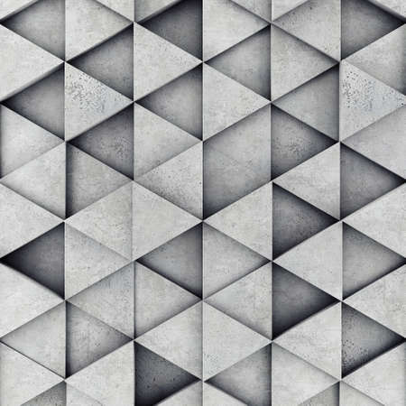prism: Concrete prism as a background Stock Photo