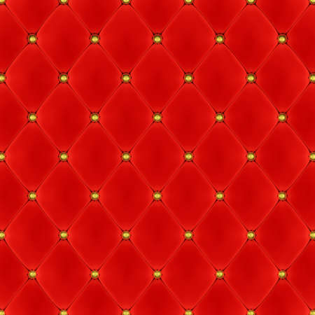 Red velvet background with golden buttons