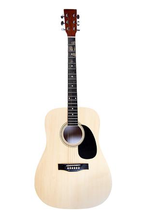 Guitar isolated on white background Stock Photo - 22345272