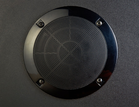 Close-up view of speaker Stock Photo - 22448041