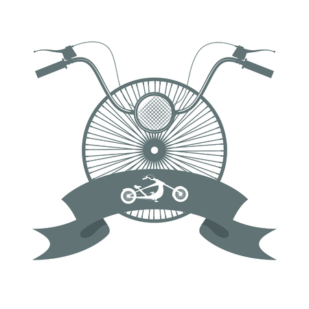 Chopper bicycle logo