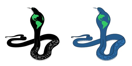 Earth under the control of the Snake Vector