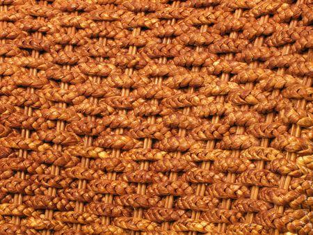 rattan plaited mats medium shot photo