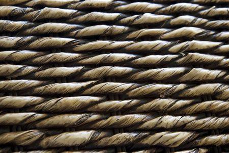 banana tree plaited mats close up photo