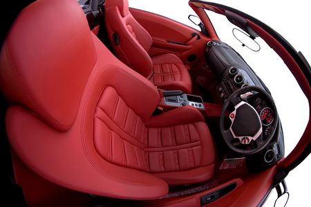 sports car interior Stock Photo - 2134381