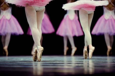 ballet: ballerina angels Stock Photo