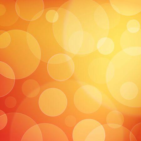 The bright golden background, beautiful bokeh effect