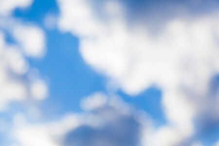 Blurred cloudy sky. Beautiful background for your design Stock Photo