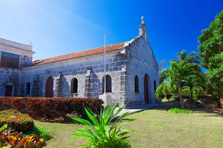 Iglesia de Santa Elvira - the old Catholic Church in Varadero, Cuba