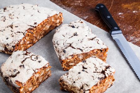 Dessert Rye Bread Stock Photo