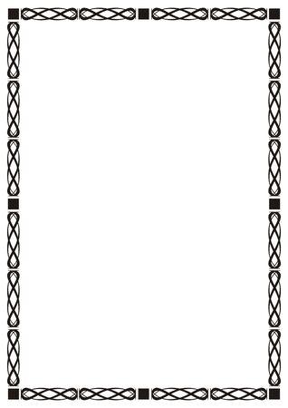 Abstract frame, decor Stock Photo - 6588139