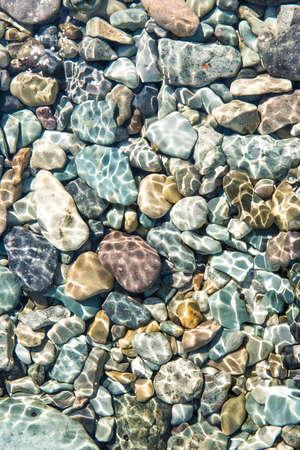 pacific ocean bottom rocks