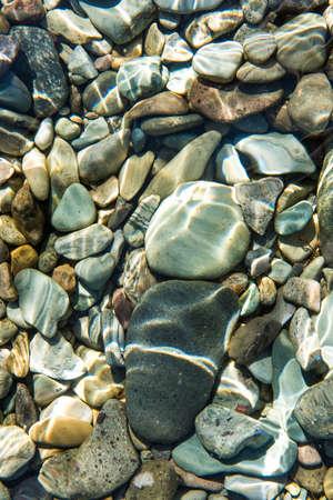 pacific: pacific ocean bottom rocks