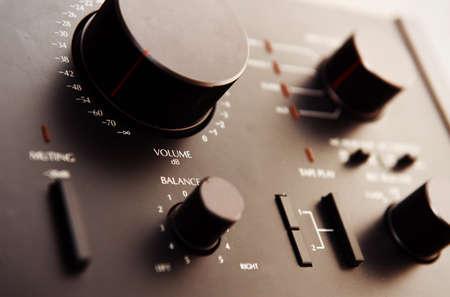 equipo de sonido: Antiguo amplificador de transistor de Japón
