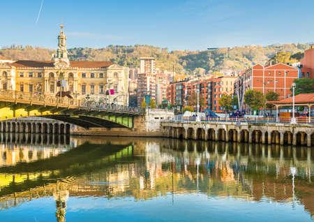 Bilbao Stadt im November - Aufnahmen von Spanien - Europa Standard-Bild - 57832740