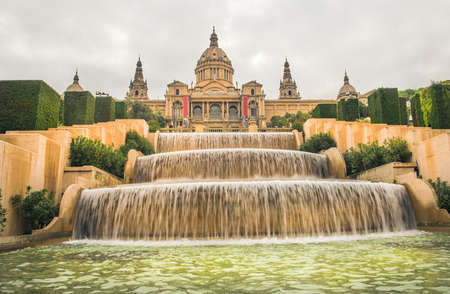 Barcelona city in november - shots of Spain - Travel Europe Archivio Fotografico