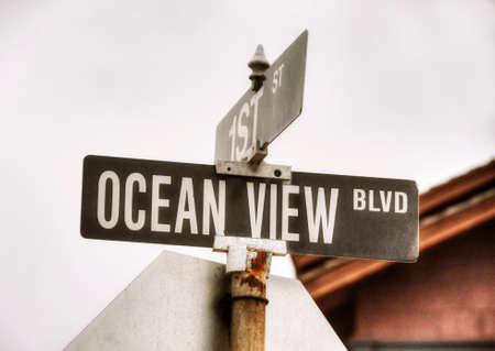 transamerica: Walks in Monterey, California shots, USA in june
