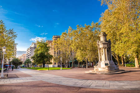 Bilbao city in november - shots of Spain - Travel Europe Stock Photo