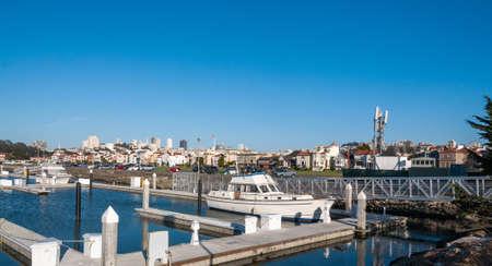San Francisco Cityscape - San Francisco, California, USA Stock Photo