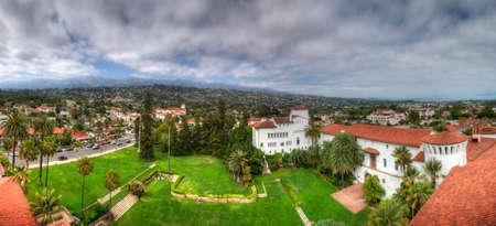 Santa Barbara, Califoania - Court House Buildings