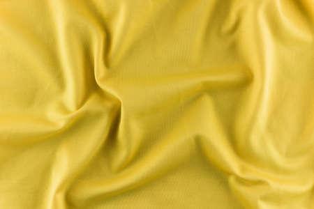 Yellow fabric texture background 免版税图像