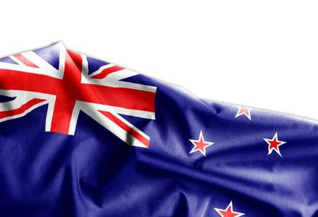 Waving flag of New Zeland Archivio Fotografico - 96627714
