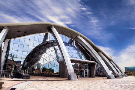 June, 8, 2018 Vladivostok, Russia - Vladivostok bay aquarium building - June, 8, 2018 Vladivostok, Russia