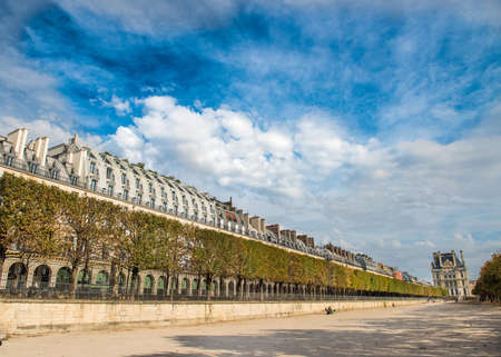 Streets of Paris, France Standard-Bild - 118963921