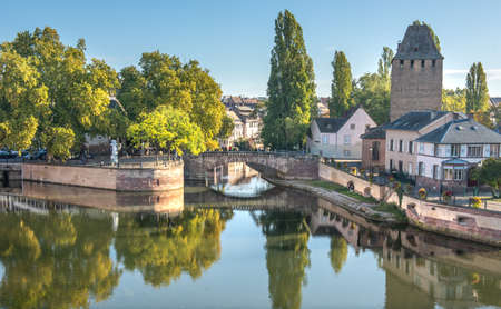 Little France La Petite France , a historic quarter of the city of Strasbourg in eastern France Archivio Fotografico