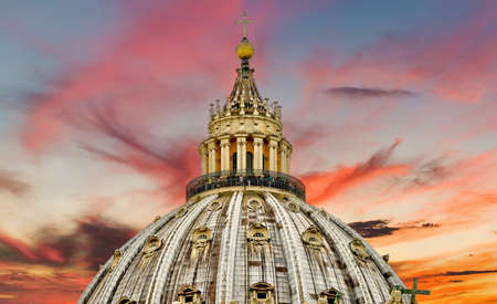 Rome, Italy, St. Peters cathedral, travel Europe Archivio Fotografico