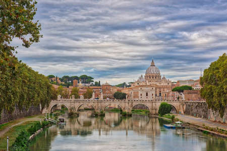 Romes Cathedral, capital of Italy