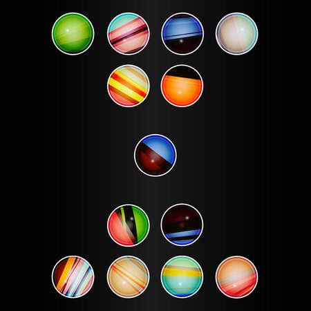 Kolorowe Koło, Nowoczesne Wzornictwo, Biznesowe Infografika, Projektowanie Układów Elementów.