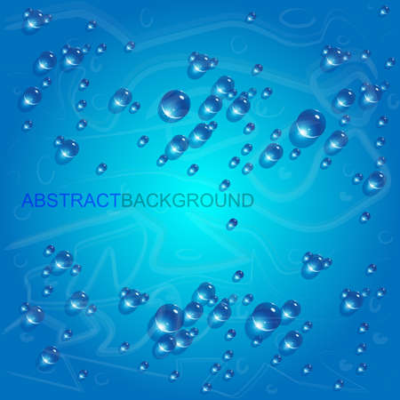 drops of water: water drops vector background