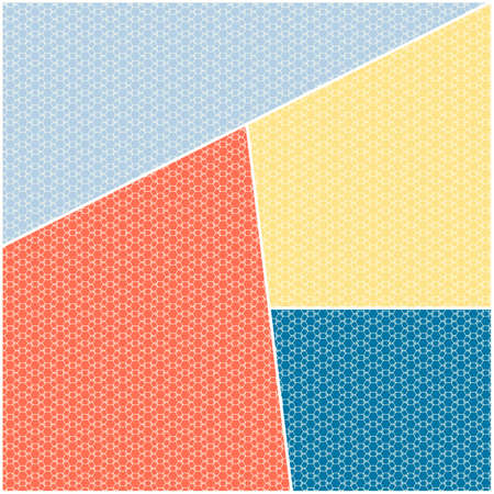 trapeze: Abstract triangle geometrical background. Infinity geometric pattern. Vector illustration.