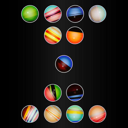 12 step: Colorful Circle, Modern Template Design, Business Infographic, Element Layout Design.