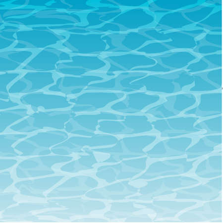 water surface: Vector background with water surface Illustration