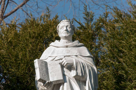 catholicism: Statue of saint