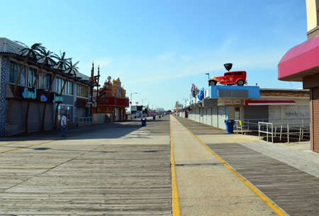 The Boardwalk of Wildwood, NJ