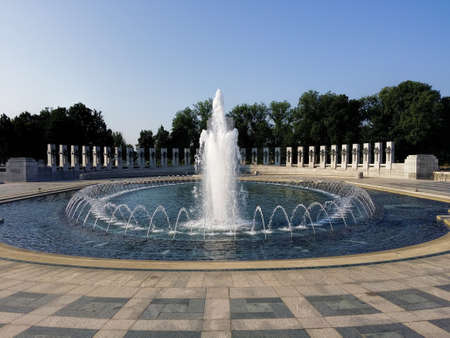 dc: The WWII Memorial in Washington DC