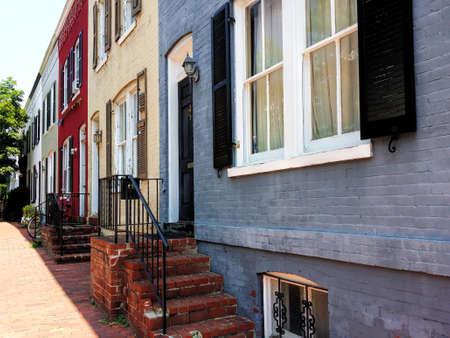 georgetown: Historic houses in Georgetown