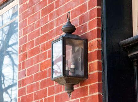 external: An external light source