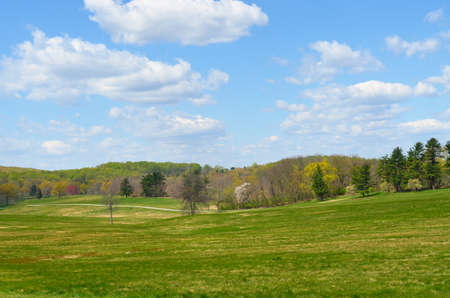 forge: The rolling hills of Valley Forge