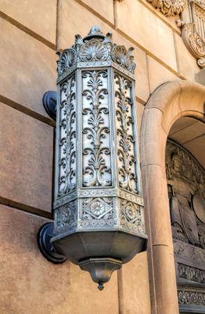 An exterior light
