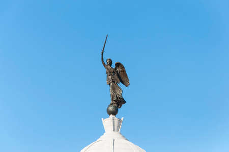 warzone: The Pennsylvania Monument in Gettysburg