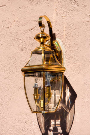 An exterior house light