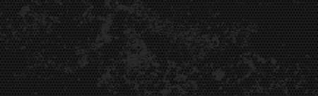 Black perforated background with black holes and glow - Vector Ilustración de vector