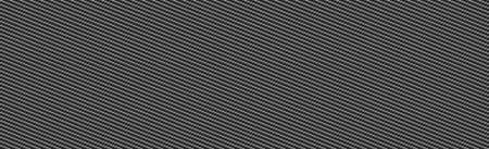 Panoramic texture of black and gray carbon fiber - Vector illustration Vettoriali