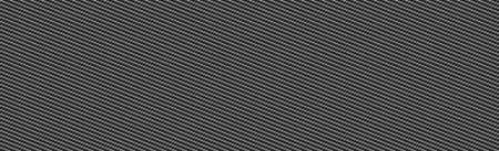 Panoramic texture of black and gray carbon fiber - Vector illustration Vektorgrafik