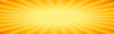 Panoramic background abstract rays of the sun around