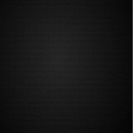 Panoramic texture of black and gray carbon fiber - illustration Ilustracje wektorowe